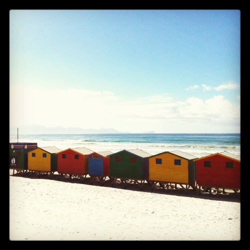 Beautiful Beach Huts Surfers Corner