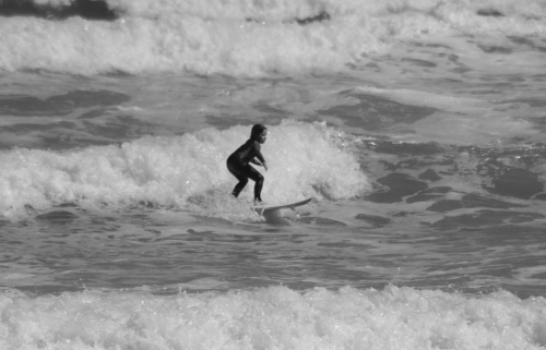Pint Size Surfer