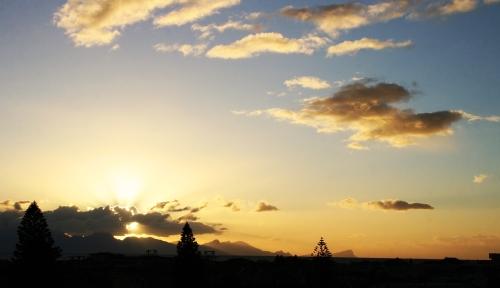 Sun Rise False Bay