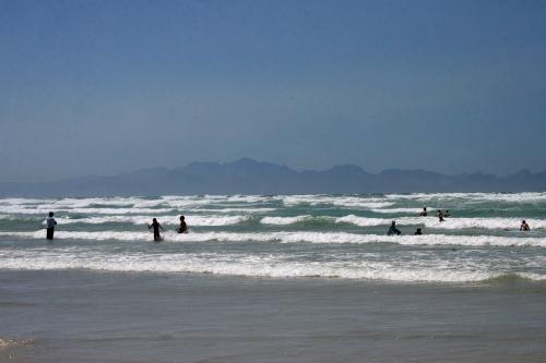 mushy surf at surfers corner