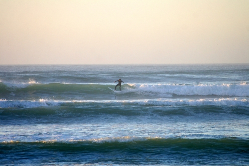 early morn surfers corner