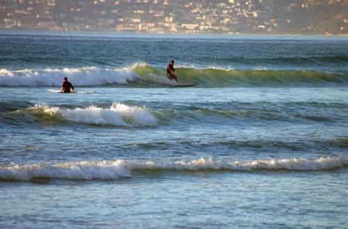 surfs up at surfers corner