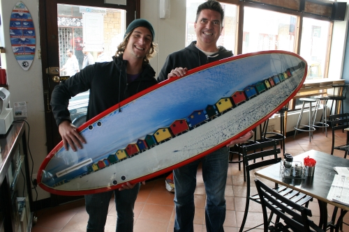 muizenberg surf board