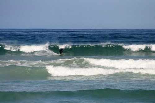 surfers corner wave