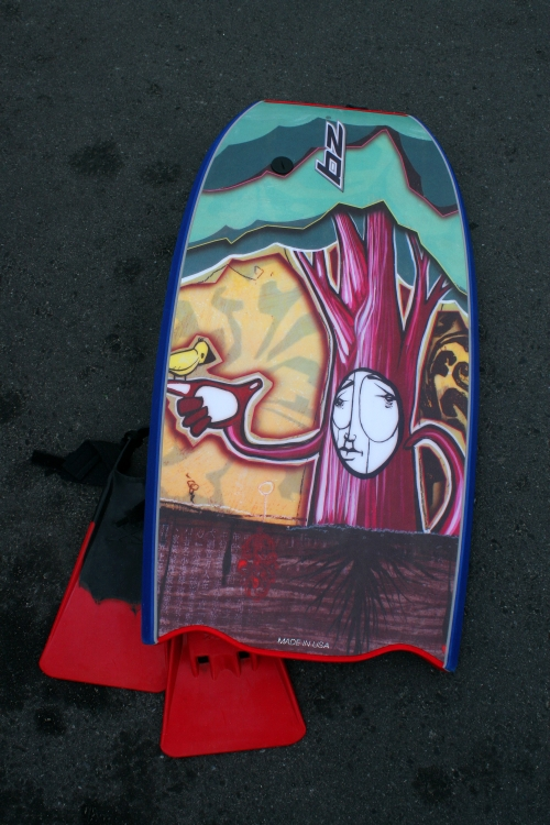 bodyboard art