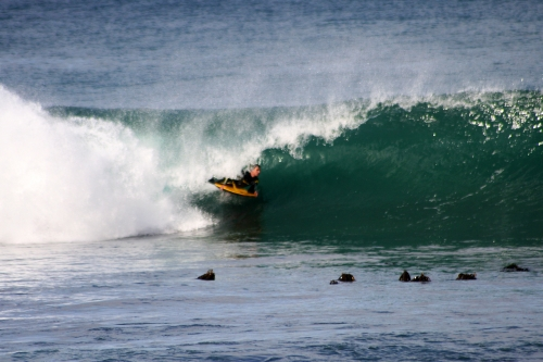 bodyboarder kalk bay
