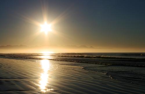 sunrise star burst