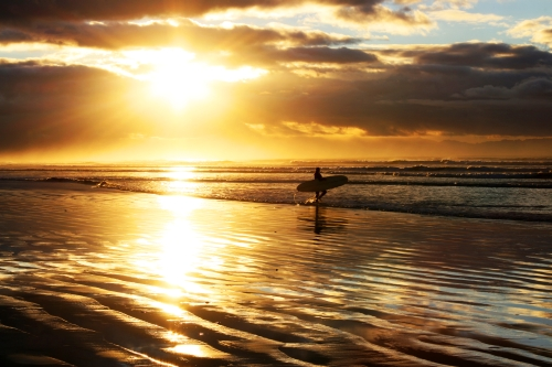 sunrise surf