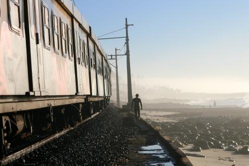 train walk
