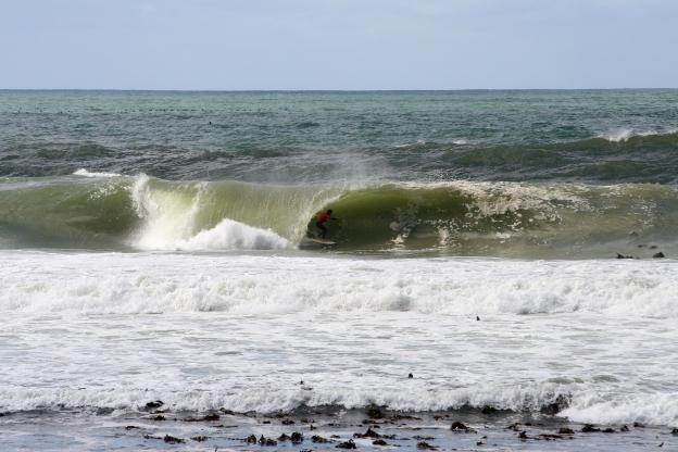 Kalk Bay barrel ride