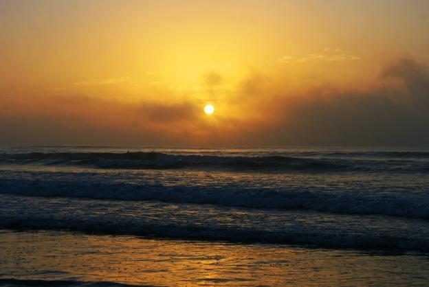sunrise-hazy