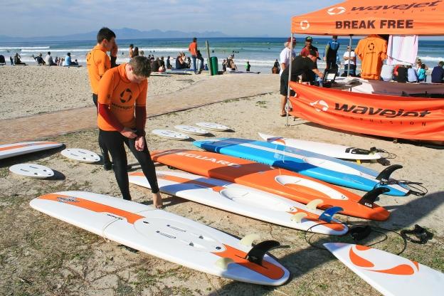 Longboarder & Wavejets