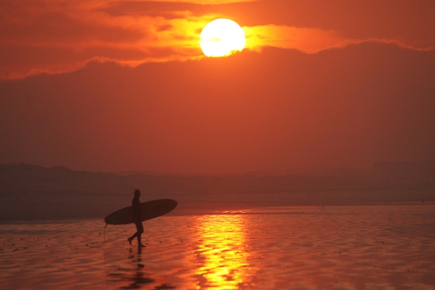 africa-surf-sunrise