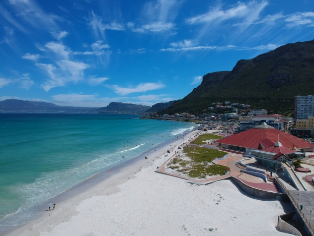 Blue Skies Over Muizenberg